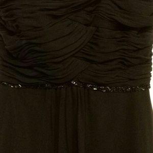 White House Black Market Dresses - White House BlackMarket black strapless prom dress